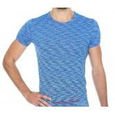 Brubeck Koszulka męska krótki rękaw FUSION SS11550 (niebieski)