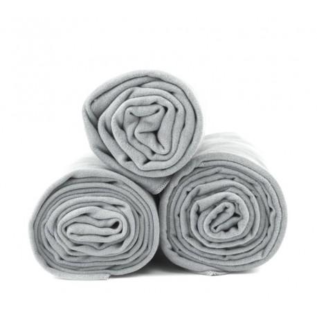 Dr. Bacty Ręcznik 65x150 cm (jasnoszary) XL