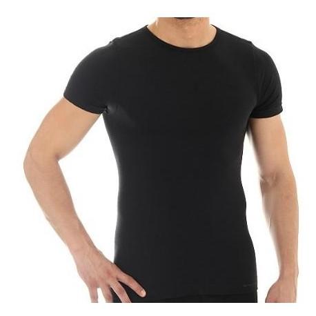 Koszulka męska COMFORT WOOL SS11030 (czarny)