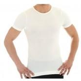 Koszulka męska COMFORT WOOL  SS11030 (kremowy)