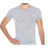Koszulka męska krótki rękaw FUSION SS11550 (popielaty)