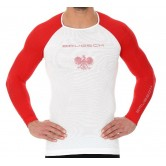 Brubeck Koszulka męska 3D Husar PRO z długim rękawem LS13190