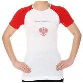 Brubeck Koszulka damska 3D Husar PRO z krótkim rękawem SS12110