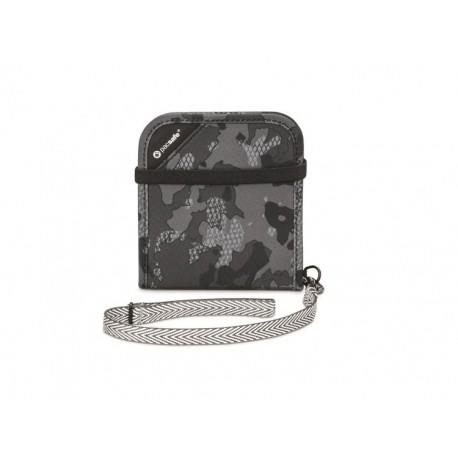 Pacsafe portfel RFIDsafe V100 grey/camo