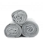 Dr. Bacty Ręcznik 60x130cm (jasnoszary) L