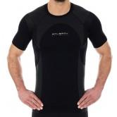 Brubeck Koszulka męska DYNAMIC OUTDOOR SS12510 (czarny)
