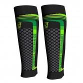 Spaio OPASKI KOMPRESYJNE speed support elite na łydkę (black/green)