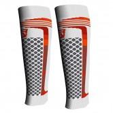 Spaio OPASKI KOMPRESYJNE speed support elite na łydkę (white/red)